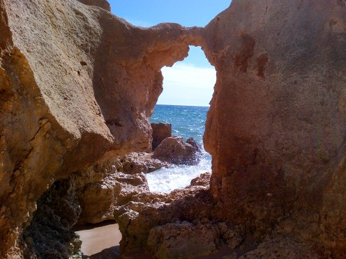 Portugal's Algave has amazing rock formations