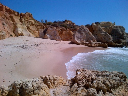 The Algarve has some  magnificent coves