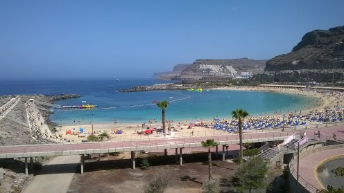 Amadores beach Gran Canaria