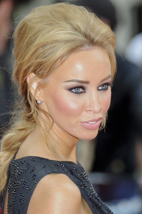 Lauren Pope at the premiere for The Amazing Spiderman in 2012.