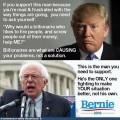 Convert Trump Voters to Bernie Sanders