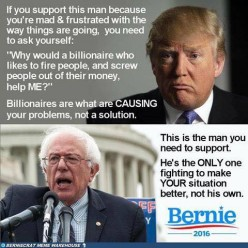 Convert Trump Voters to Bernie Sanders