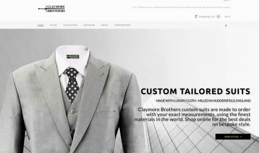 How to save money buying suits online – Claymore Brothers