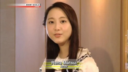 Rena Matsui has now turned her focus to acting after being involved as a pop music singer.