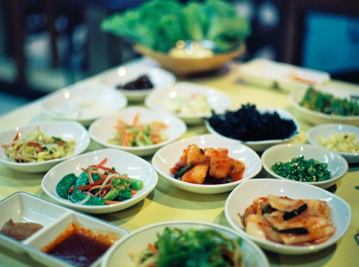 Korean food in Hua Hin, Thailand