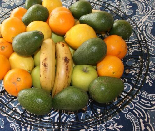 Enjoy seasonal fruits