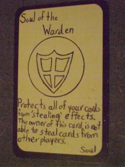 Custom Card Ideas: Soul of the Warden