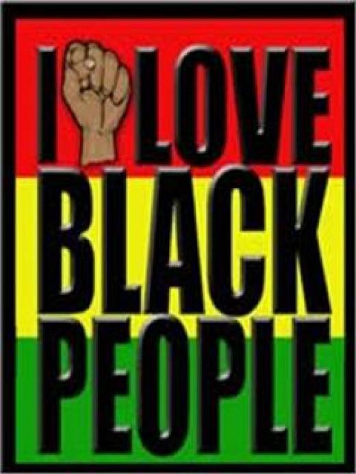 Black power symbol.