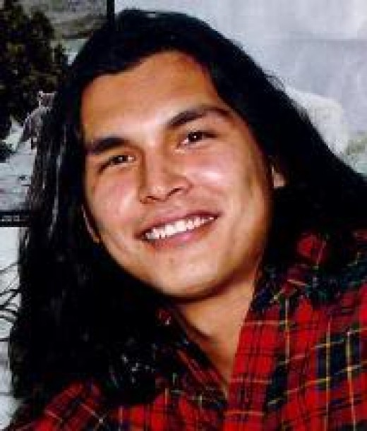 Native American actor Adam Beach.  When will Hollywood allow Native American leading men and women to also become leading actors.