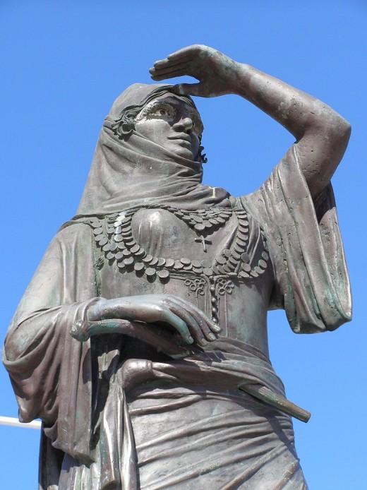 Bouboulina Monument, Spestes, Greece
