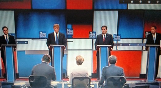 One of the many Presidential debates 2016