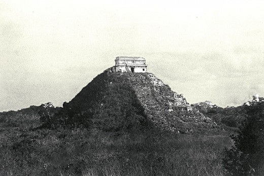 Chichen Itza was dilapidated and covered with tons of earth. It is restored in the early 20th century. How old is Chichen Itza really? How many times could it have been restored before? Were the Mayans not the builders, but the restorers?