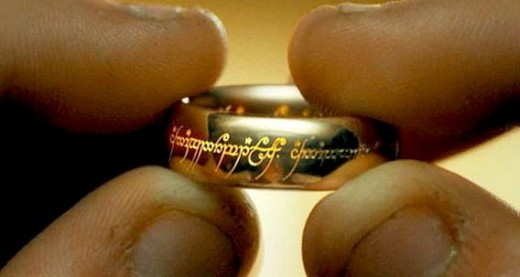 The Ring may seem harmless but it is really the evil device of Sauron and seeks ever corrupt the hearts of men.