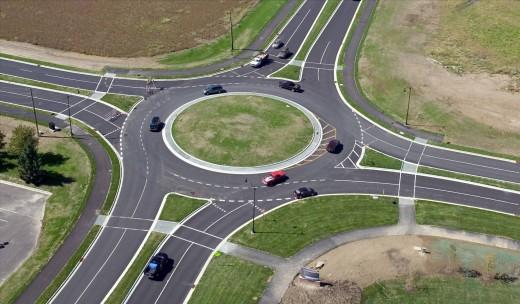 A roundabout way