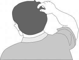 You could end up scratching a lot after a haircut if your barber or stylist doesn't prepare your head properly.