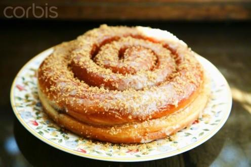 Danish-style doughnuts.
