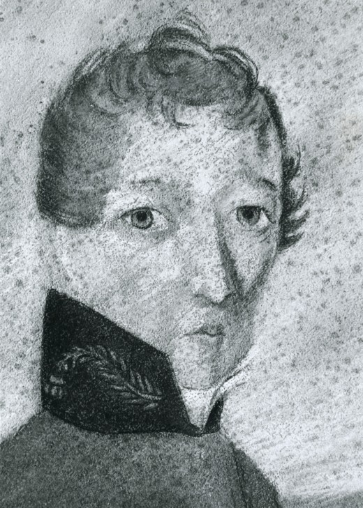 Early portrait of James Barry