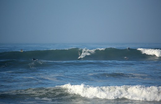 Tourmaline surf park in Pacific Beach California