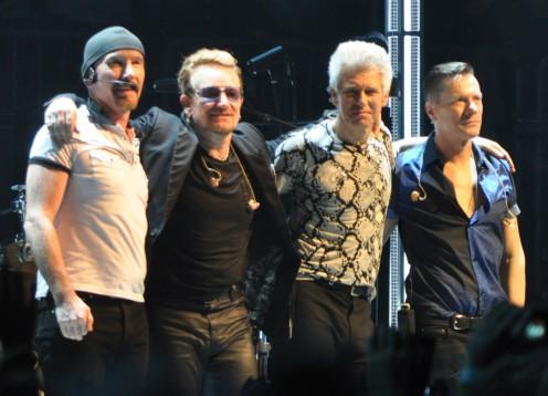 U2 in 2015