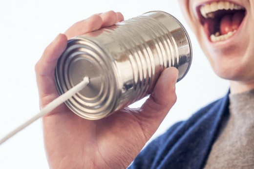 When communication breaks down with your boss, you might as well be talking through a tin can telephone.