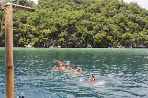 Snorkeling at Coral Garden.