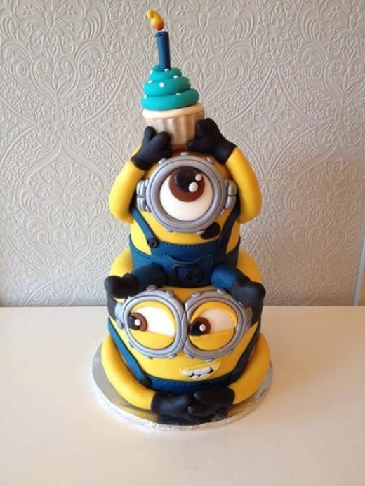 Another cool Minions Cake