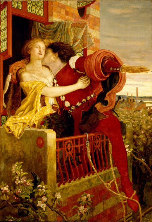 Ford Madox Brown's 1821 painting