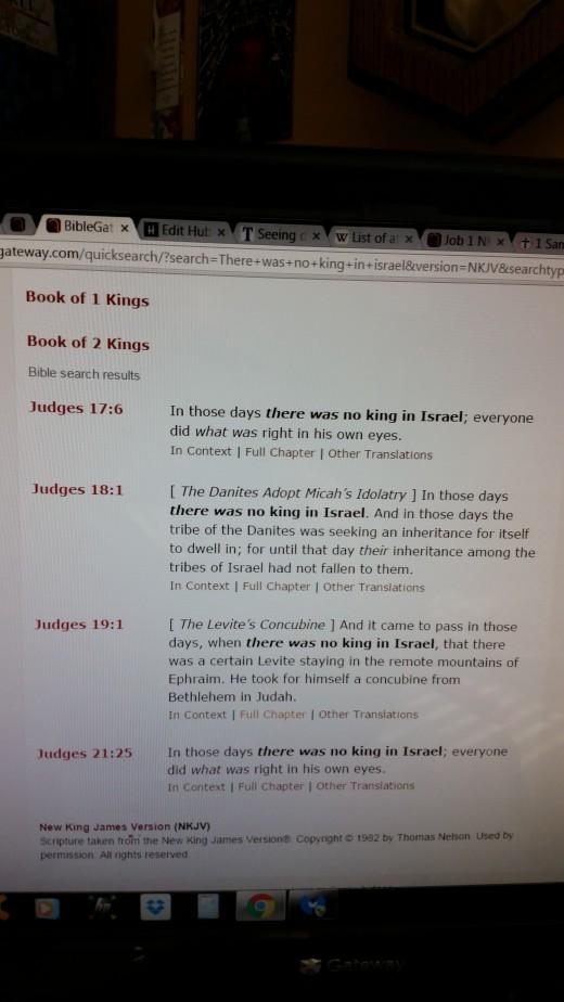 Screenshot Biblegateway.com