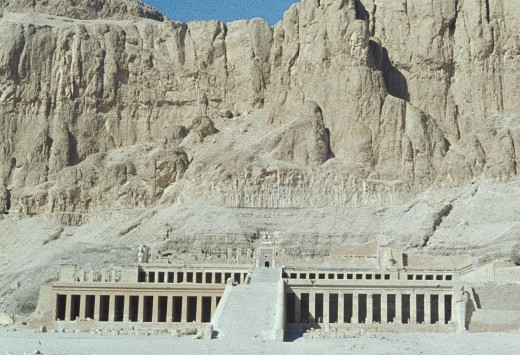 Deir el-Bahir, the Temple of Hatshepsut