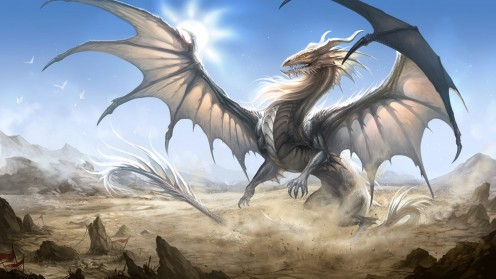 Winged dragon guard the breath of eternity.