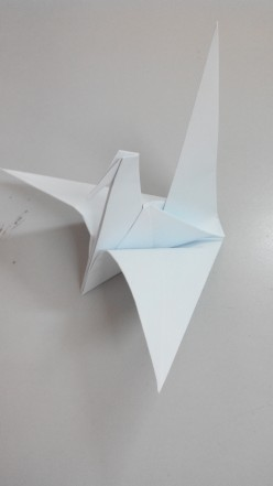 How to fold Origami Paper Crane