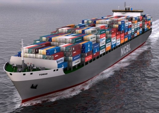 Marine Industry - Container Vessel