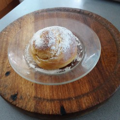 My homemade Sweet Potato Ensaymada