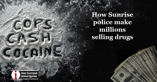 SunSentinel investigates the involvement of police in the selling of cocaine