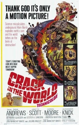 Crack in the World, U.S. Theatrical Movie Poster