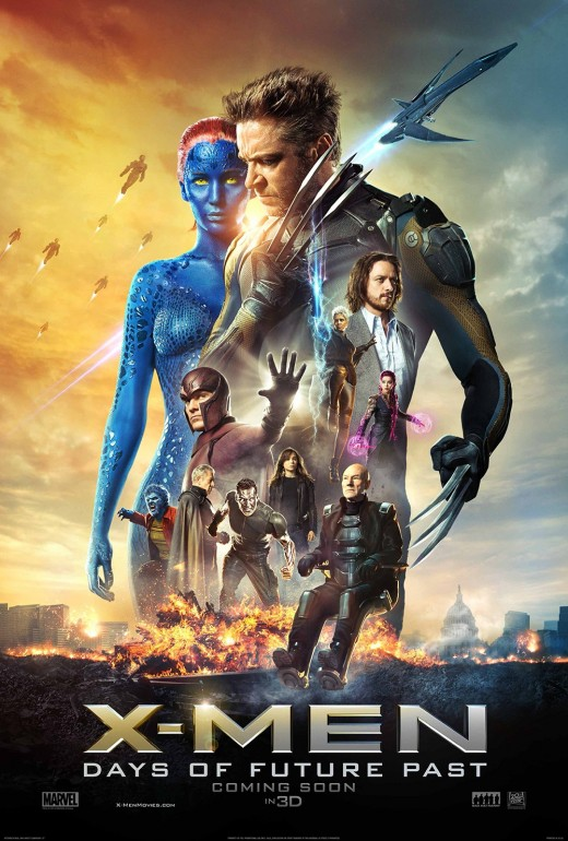 "Promotional poster for ""X-Men: Days Of Future Past"""