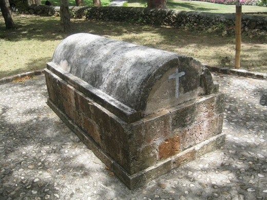 Tomb of the White Witch at Rose Hall