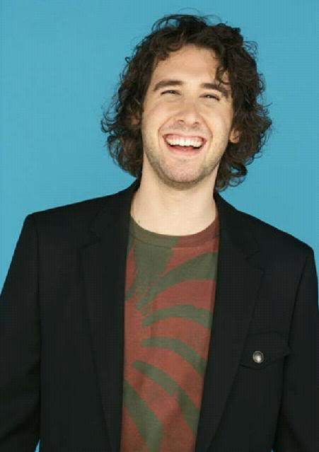 Josh Groban paid his respects.