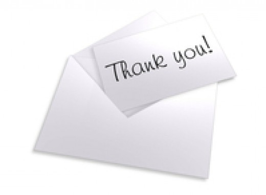 Try to mail your thank you  notes as soon as possible.