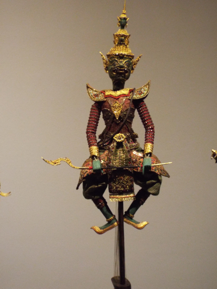 A puppet in the Bangkok National Museum