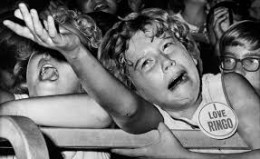 Beatlemania hit from ages 8-16 the hardest in 1963-4
