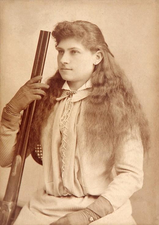 Annie Oakley circa 1880s