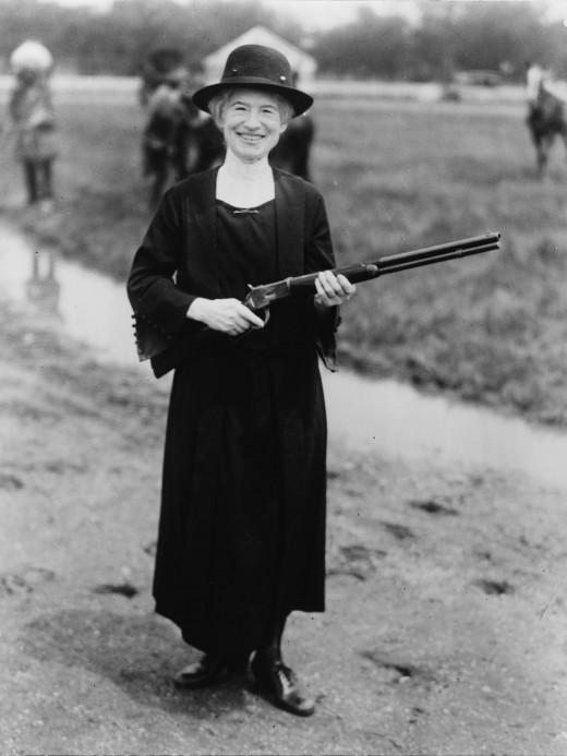 Annie Oakley, 1922