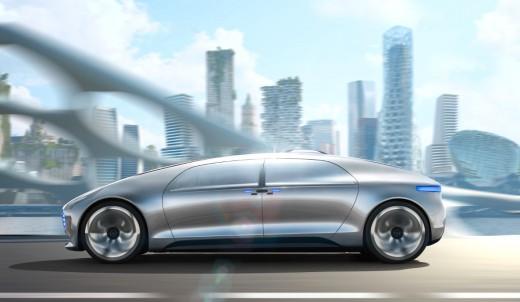 Mercedes-Benz F 015 Luxury autonomous vehicle concept
