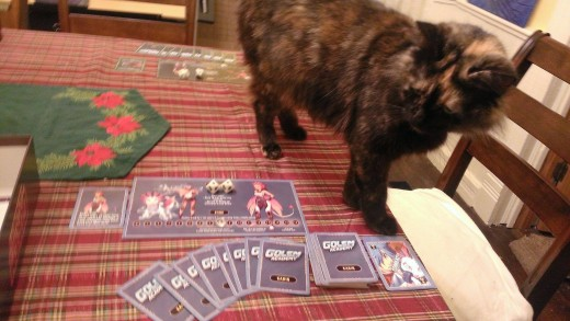 Even kitties love Golem Academy!