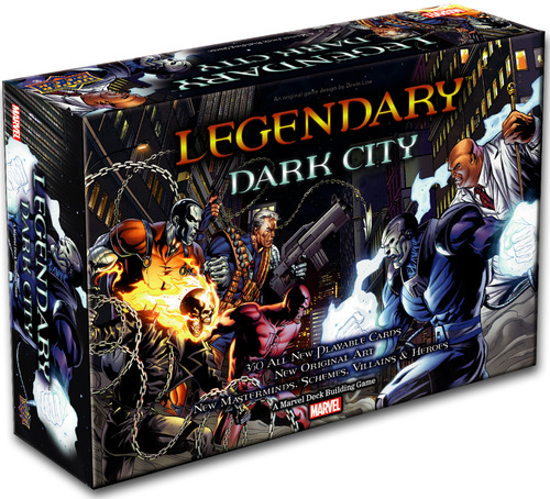 The box for the Dark City expansion