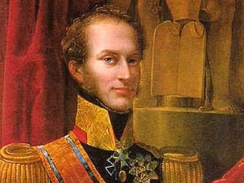 Portrait of Dutch King William I (1772-1843)