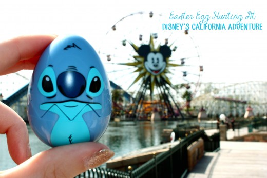 Easter Egg Hunting At Disney's California Adventure.