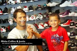 Misha Collins of CW's Supernatural is Spreading Kindness