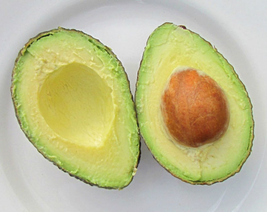 An avocado. Don't feed this to your pet!